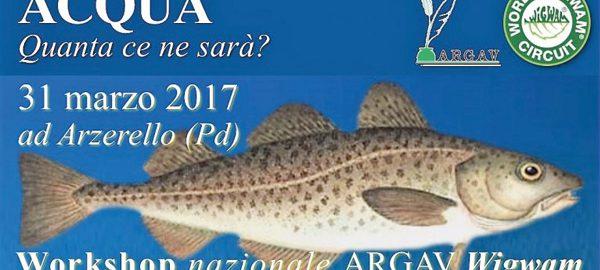 Workshop nazionale ARGAV Wigwam - Acqua