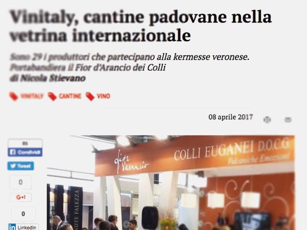 Le Volpi al Vinitaly 2017